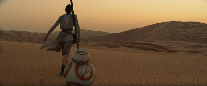 Star Wars The Force Awakens rey and bb-8