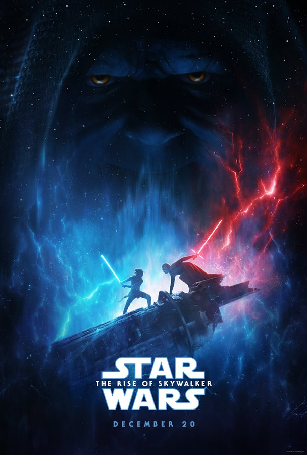 Star Wars The Rise of Skywalker poster D23