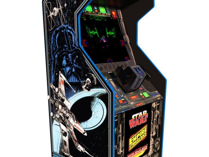 Star Wars arcade game cabinet