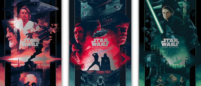 Bottleneck Gallery Debuts New Star Wars Original Trilogy Art Film