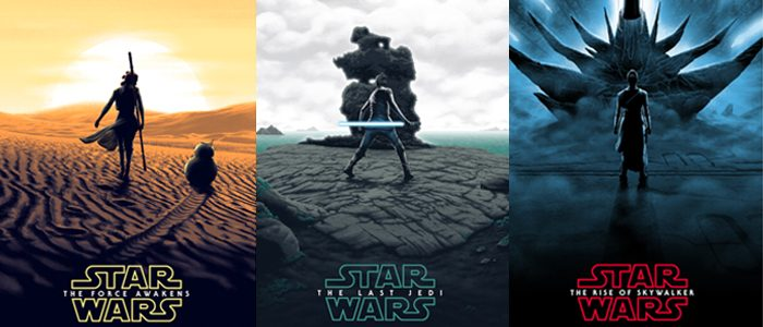 New 'Star Wars' Sequel Trilogy Posters Put Rey in the Center of the Frame