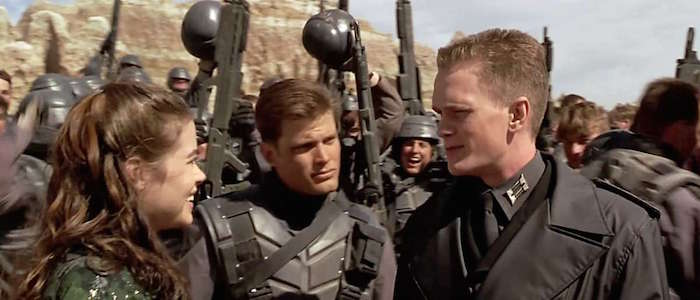 The Quarantine Stream Starship Troopers Is A Hilarious Chilling Satire That Arrived A Few Decades Early Film