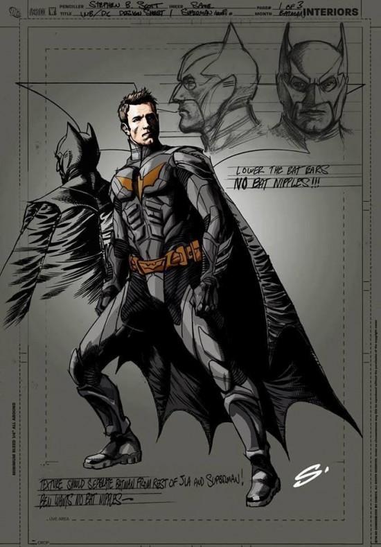 Steve Scott Affleck Batman