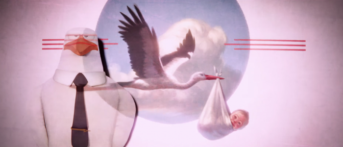 Storks teaser trailer