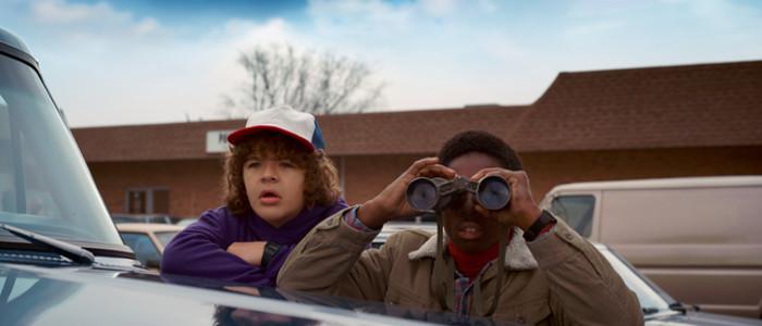 Stranger Things Dustin and Lucas