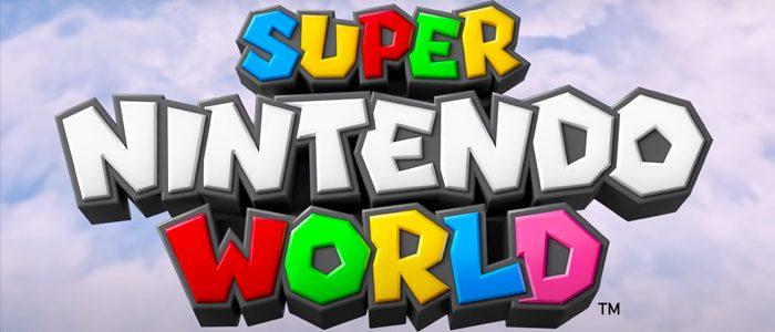 Super Nintendo World logo