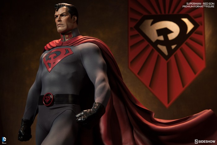 Superman Red Son Sideshow