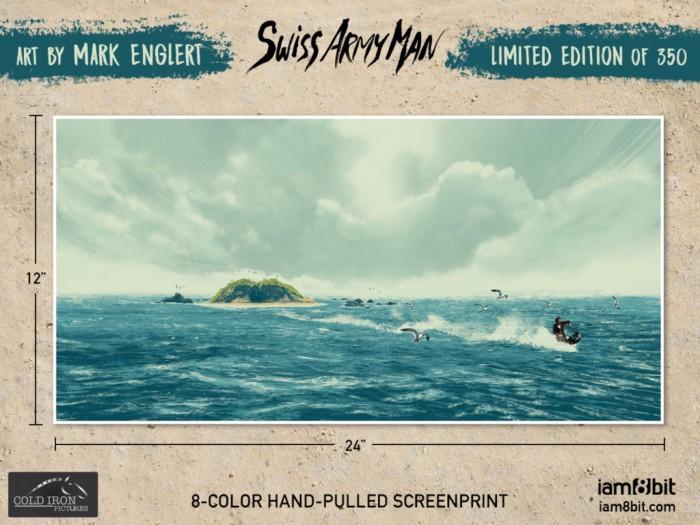 Swiss Army Man Limited Edition Screenprint