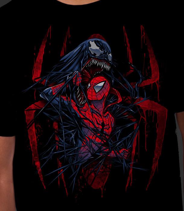Symbiote Rising tshirt