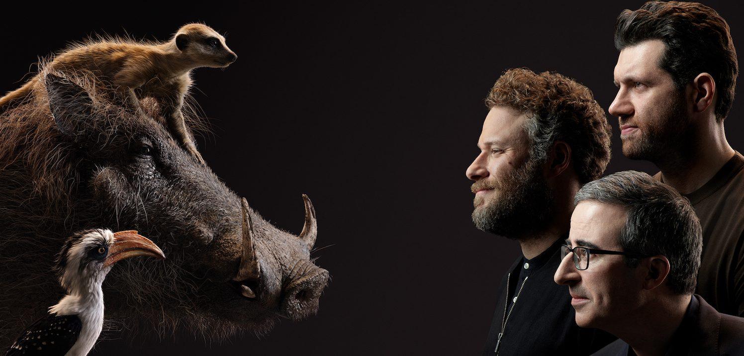 The Lion King Character Portraits Show Actors Alongside Animals Film