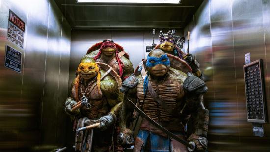 Teenage Mutant Ninja Turtles elevator