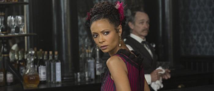 Thandie Newton as Maeve Millay in Westworld