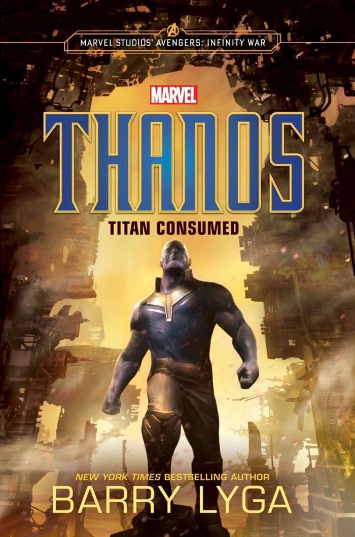 Thanos book cover