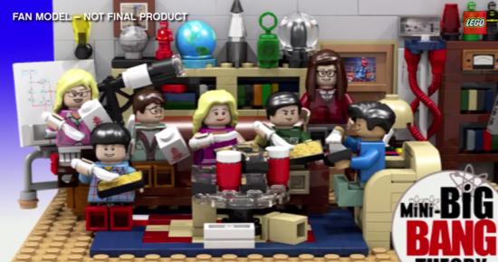 The Big Bang Theory Lego