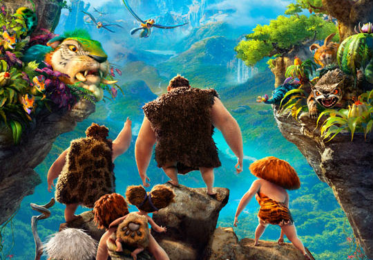 The Croods poster header