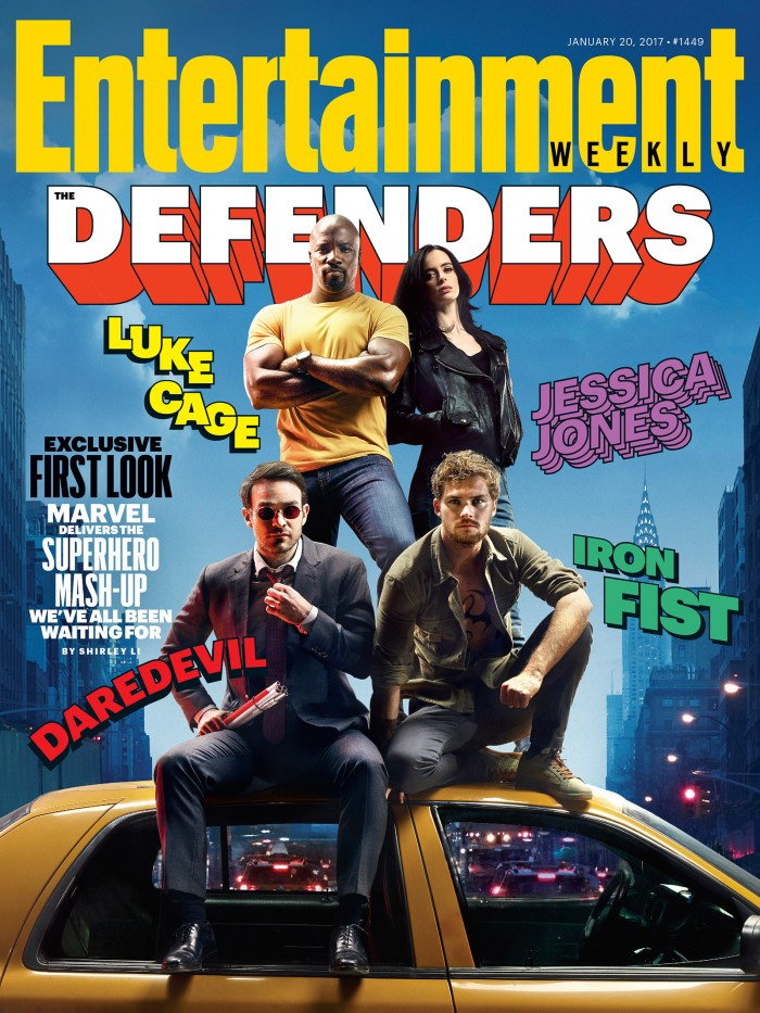 The Defenders EW Cover