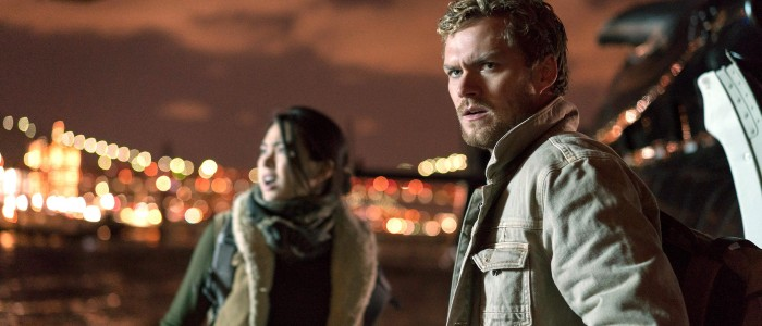 The Defenders - Colleen Wing (Jessica Henwick) and Iron Fist (Finn Jones)