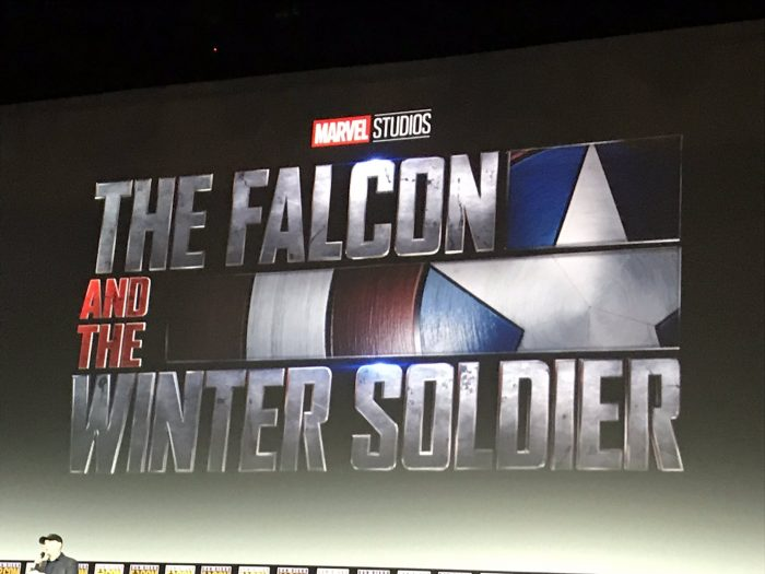 The Falcon and the Winter Soldier logo SDCC