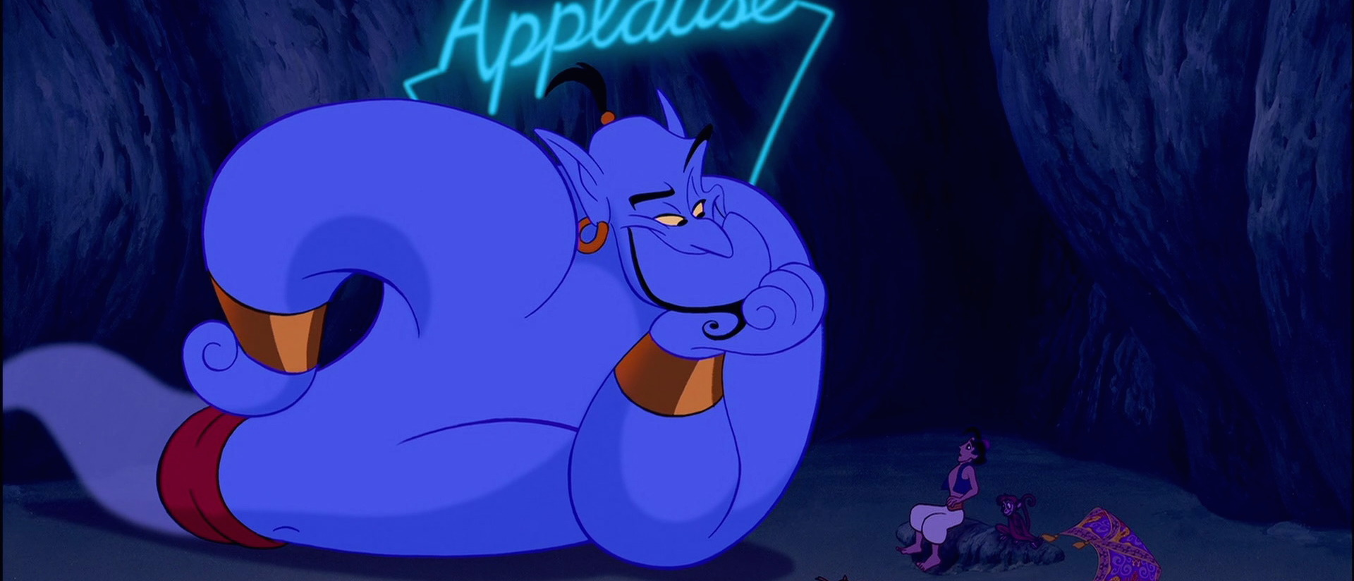 Aladdin Fan Theory Confirmed Yes That Is The Genie Story Books Of Aladin