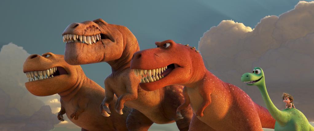 meet the good dinosaur t rexes d23 expo 2015