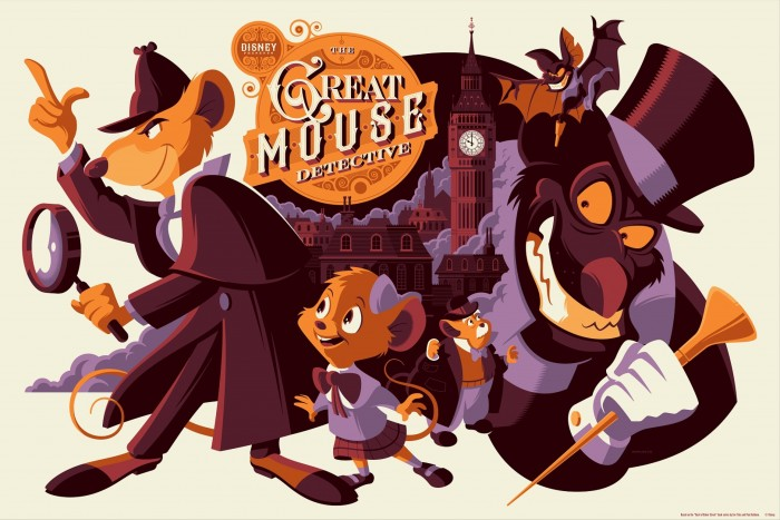 The Great Mouse Detective by Tom Whalen