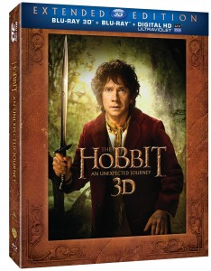 The Hobbit Extended Edition Blu-ray cover
