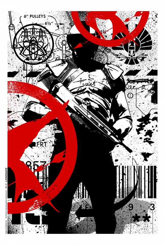 The Hunger Games Mockingjay Comic Con Poster