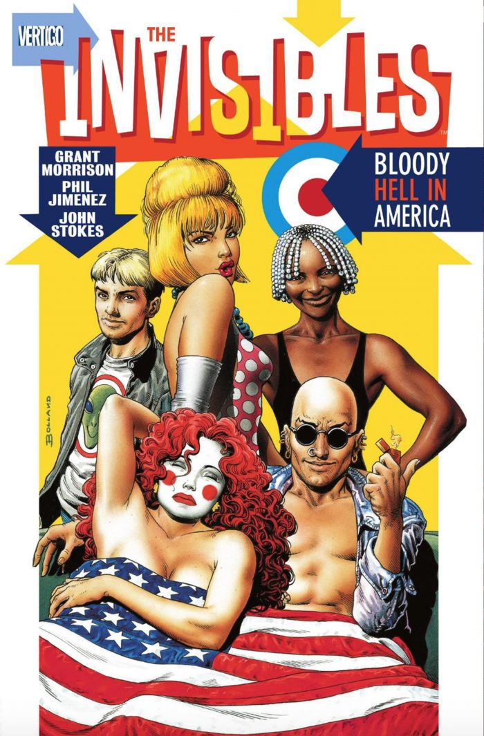 The Invisibles comic cover