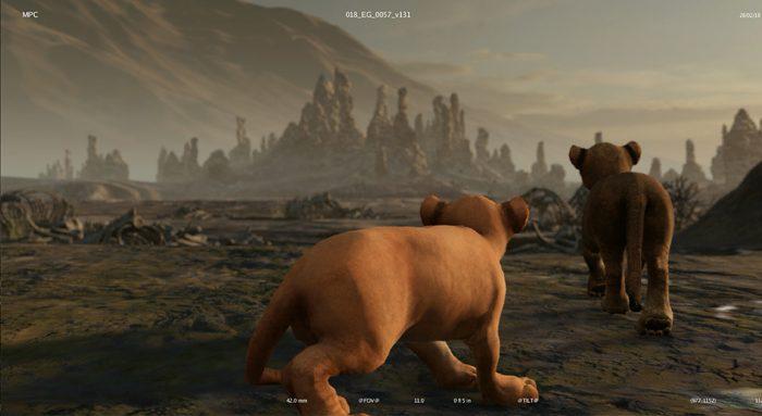 The Lion King progression 2