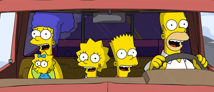The Simpsons Movie car 2