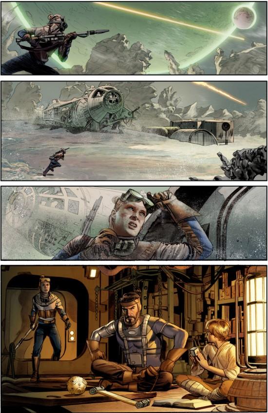 The Star Wars Comic full