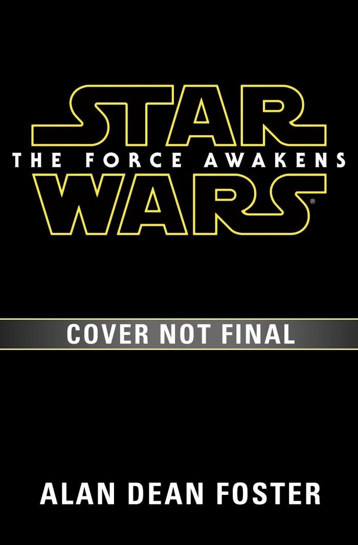 novelization of Star Wars: The Force Awakens