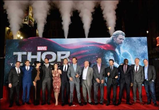 Thor 2 premiere