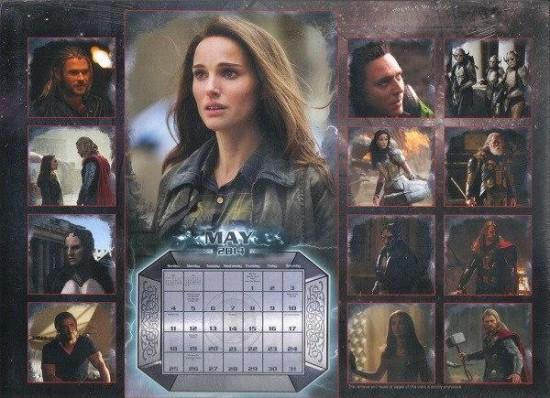 Thor Calendar