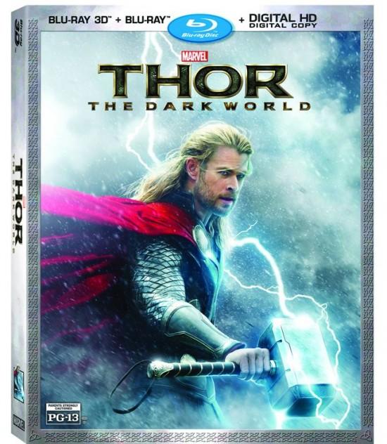 Thor Dark World Blu-ray