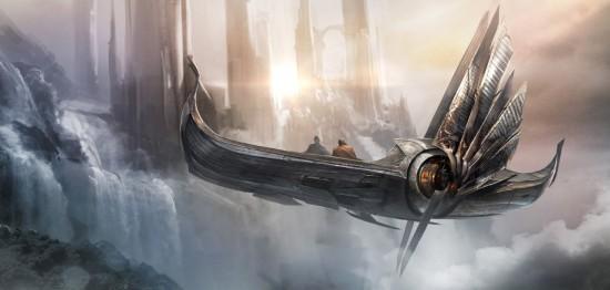 Thor Dark World Concept ship