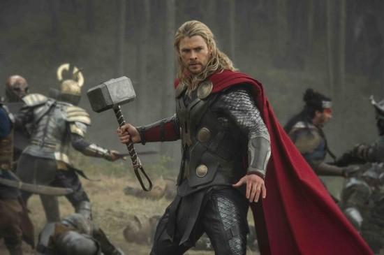 Thor Dark World battlefield