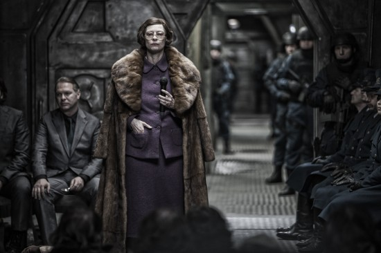 Tilda Swinton in Snowpiercer