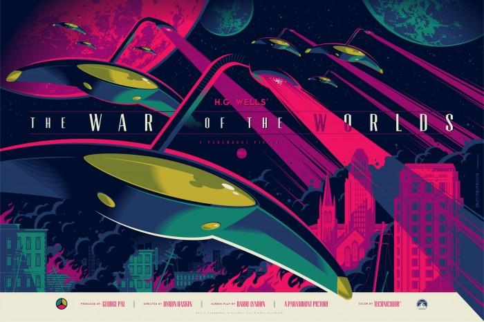 Tom Whalen War of the Worlds variant