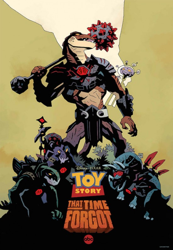 Toy Story That Time Forgot Comic-Con poster