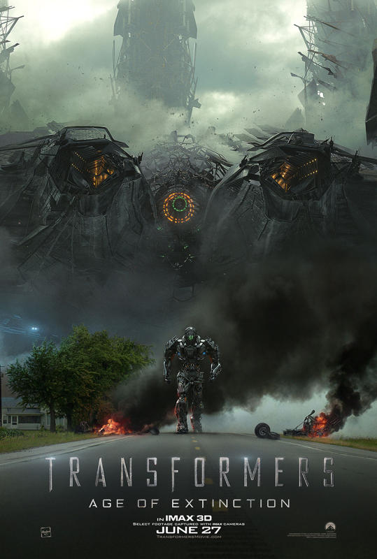 Transformers 4 IMAX poster