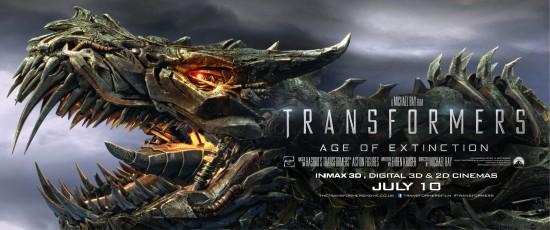 Transformers Age of Extinction Grimlock banner
