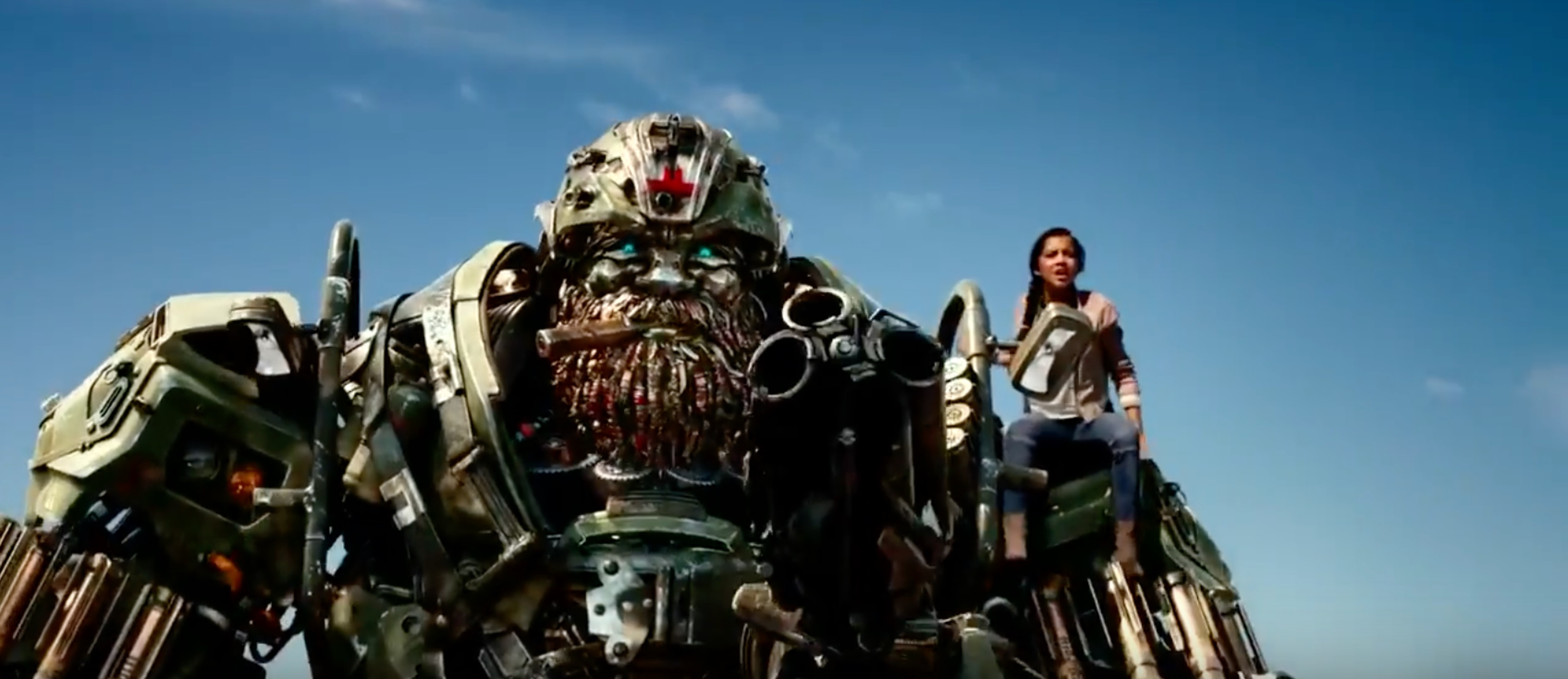 transformers: the last knight' trailer 2: ''yeah, i fight like a girl''