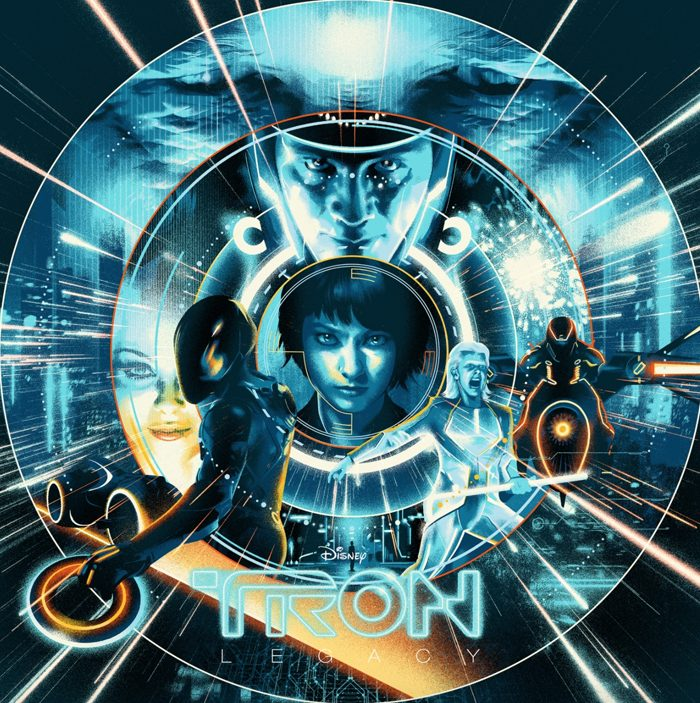 Tron Legacy vinyl cover Mondo