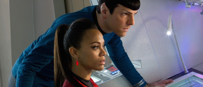 Star Trek Into Darkness - Uhura and Spock
