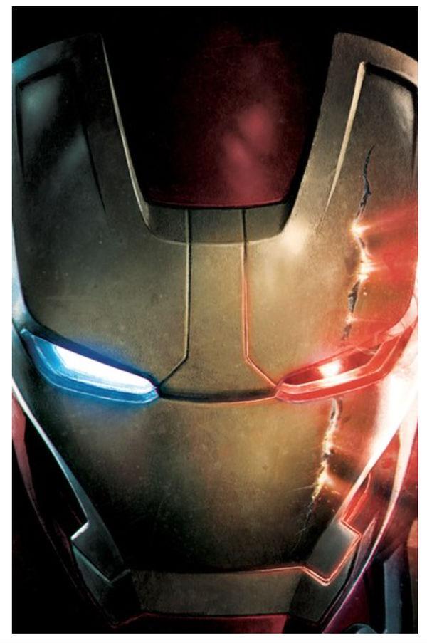 Ultron Iron man promo art