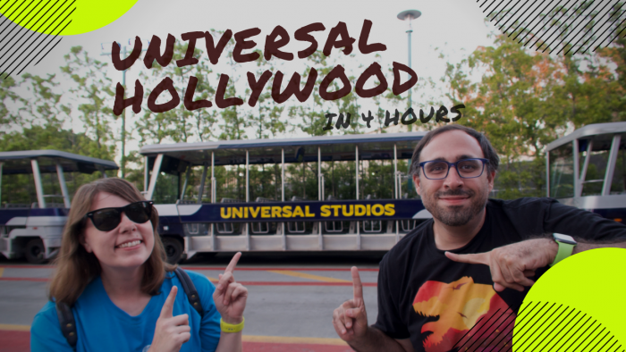 Video: Universal Studios Hollywood In Only 4 Hours: Jurassic World The Ride at Night & More