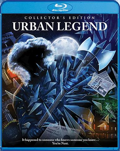 Urban Legend Blu-ray cover