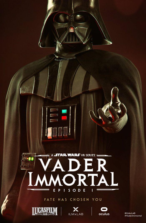 Vader Immortal Vader character poster