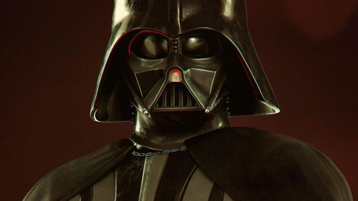 Vader Immortal character poster sliver